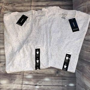 Men's 2 pack T-shirts by Alfani